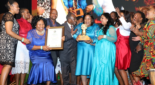 Edendale hospital wins gold award for always putting people first