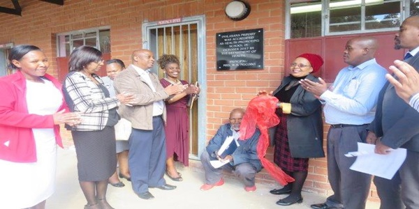 Inhlasane Primary School launched as a Health Promoting School